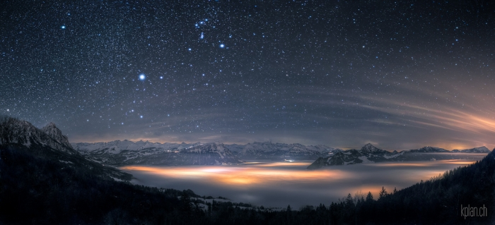 'Orion and the Sea of Fog' by David Kaplan